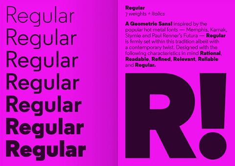 Font Regular