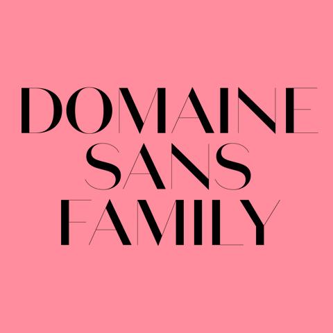 Domain Sans