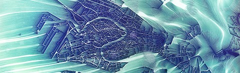 Flowing City Map